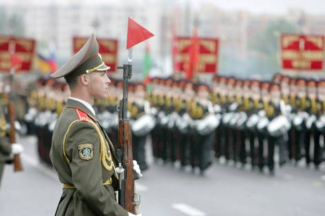 victory parade in minsk