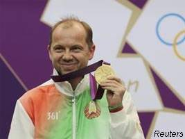 Belarus gold medal on london Olympic games 2012