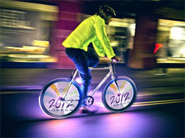 students from belarus invented led bicycle lights