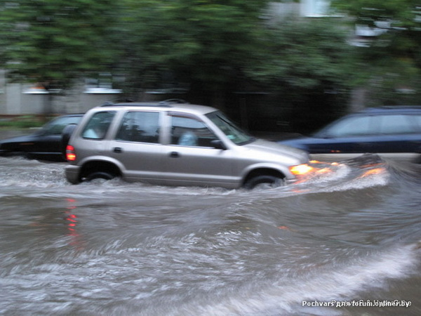 big rain in minsk