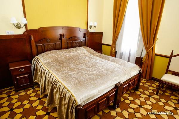 bedroom in garni hotel minsk