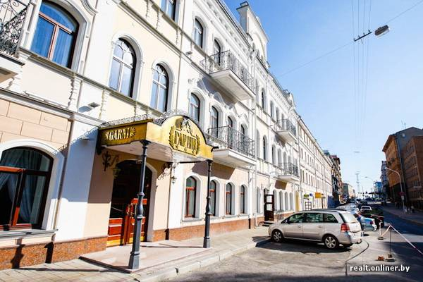 hotel garni on Internatsionalnaya street