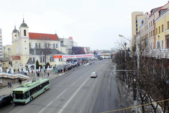 nemiga street in minsk now