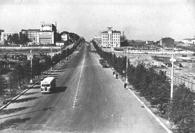 nezavisimosti avenue old photo