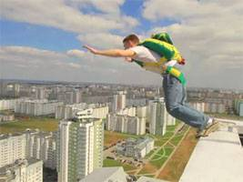 roof top jump in Minsk