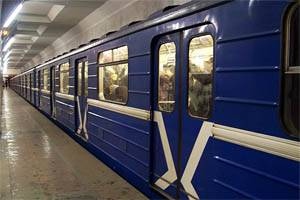 subway station train in minsk