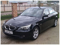 rent bmw in Minsk