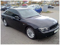 bmw rent in Minsk