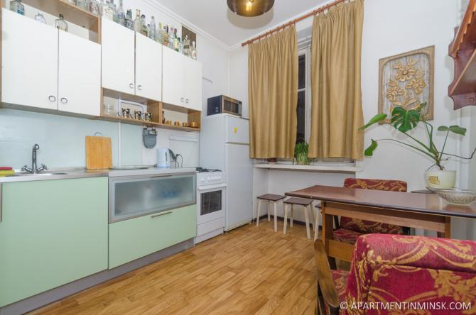 Rent a room in Minsk, Budget 2 bedroom apartment in Minsk