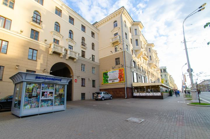 Minsk Luxury hotel on Nezavisimosti ave 18