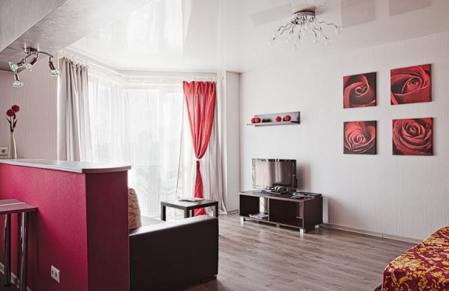 Frunzenskaya studio apartment (1) for rent
