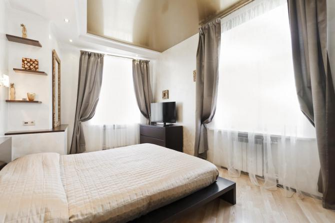 Rent a room in Minsk, Secure apartment with 2 bedrooms