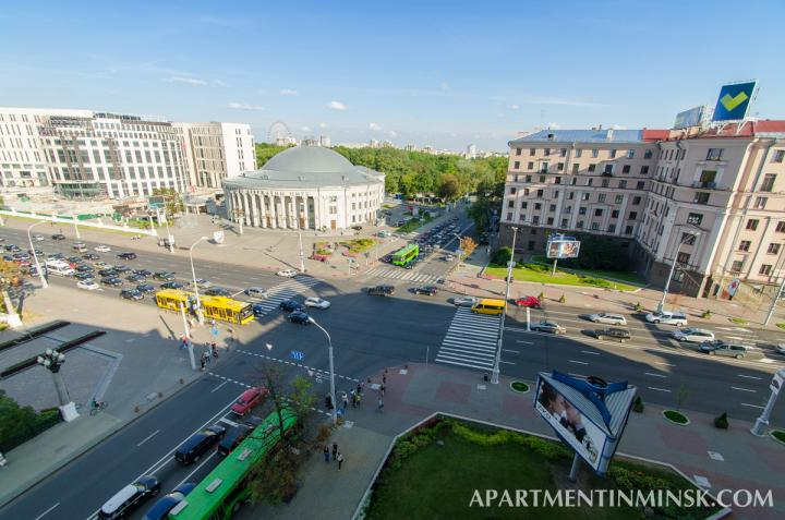 Minsk hotels, Circus 2 bedroom apartment
